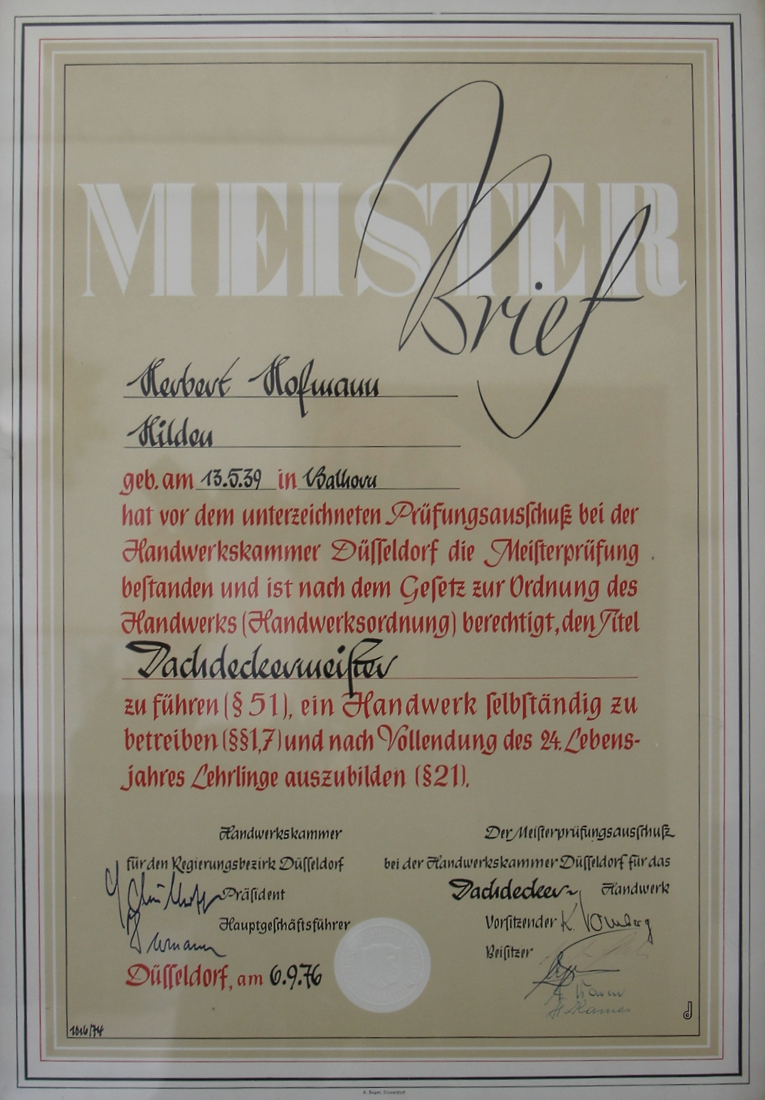 Meisterbrief